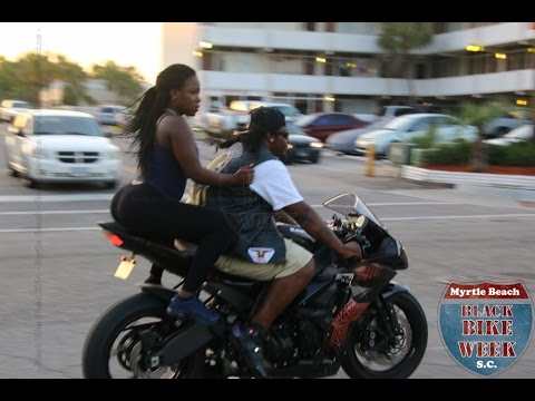 BLACK BIKE WEEK | MYRTLE BEACH, SC | 2015 | BEST VIDEO!!!