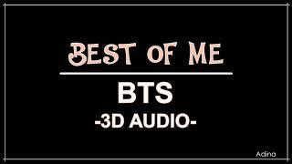 Video BEST OF ME - BTS (3D Audio) download MP3, 3GP, MP4, WEBM, AVI, FLV Juli 2018
