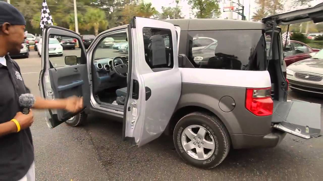 Autoline S 2003 Honda Element Ex Walk Around Review Test Drive Youtube