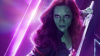 """Gamora - Fight & Weapons Specialty Compilation (+ """"Avengers: Endgame"""") [HD]"""
