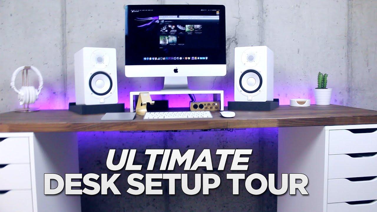 Ultimate Desk Setup 2016 Youtube