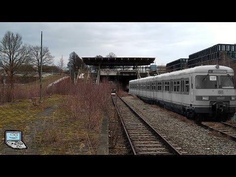 """Der stillgelegte Olympiabahnhof """"Olympiastadion"""" in München - Szenen eines Geisterbahnhofes"""