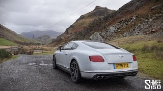 Bentley GT V8 S at EVO Triangle - 'Best Driving Roads Live Here' with Esso Synergy Part 2