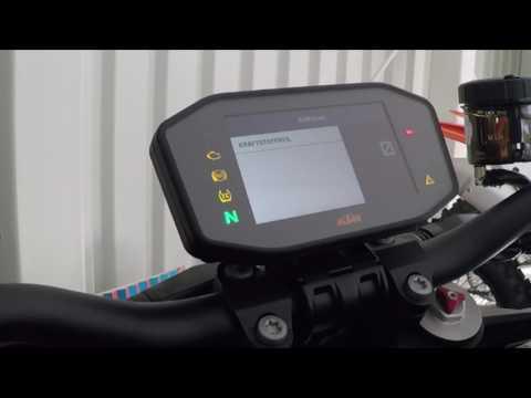 2 Rad Unterberger TV – Das Multifunktionsdisplay der KTM Super Duke 1290 R