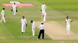 Ian Bell Run Out Controversy - England vs India, Second Test, Day 3 (31.07.2011)