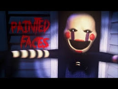 Five Nights at Freddy`s 4 Song-Painted Faces 1 Hour