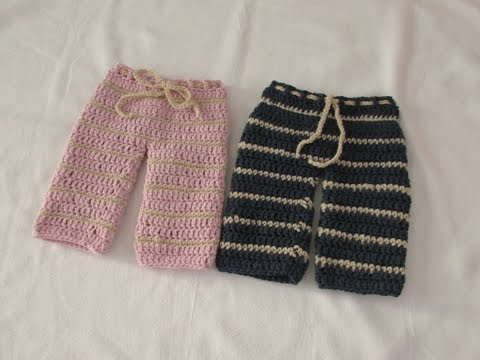 VERY EASY crochet pants / trousers / shorts tutorial - any s