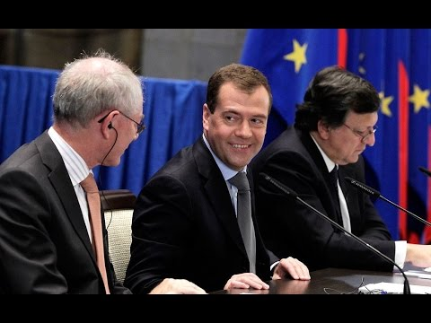 Dmitry Medvedev. Russia – EU Summit
