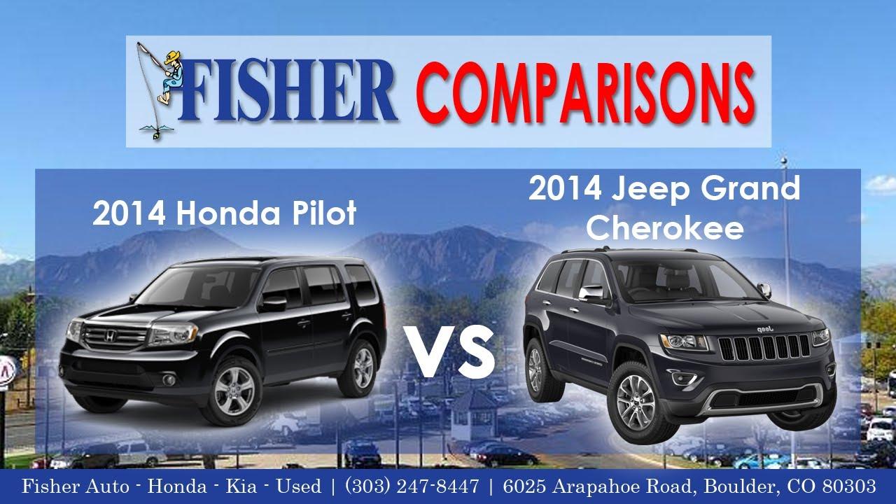 2014 honda pilot vs 2014 jeep grand cherokee vehicle. Black Bedroom Furniture Sets. Home Design Ideas