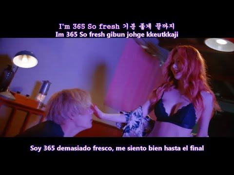 TRIPLE H - 365 FRESH MV [Sub Español + Hangul + Rom] HD