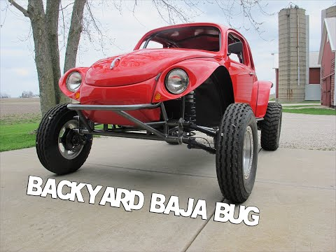 Baja Bug, Backyard build, Cover of Hot VW Magazine 11-2014