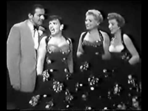 Judy Holliday, Kay Starr, Janet Blair and Tyrone Power