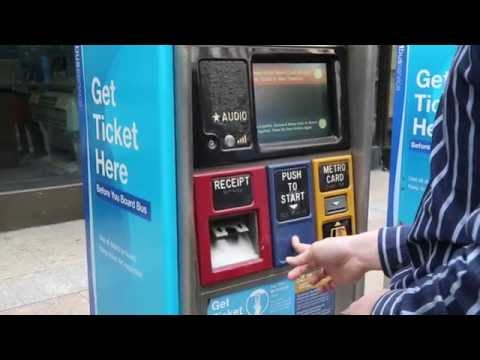 How to Pay Your SBS Fare with a MetroCard