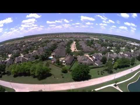 Westover Park League City,TX. View from the sky.