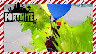 Fortnite Xmas Tree Balloon Parkour with Map Code