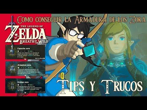 The Legend of Zelda: Breath of the Wild | Tips y Trucos | Como conseguir la Armadura de los Zora
