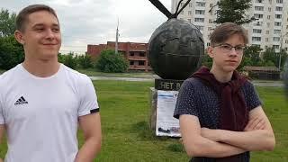 Протест против сноса памятника на Юго-Западном а Новосибирске