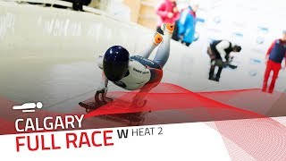 Calgary (WCup 7) | BMW IBSF World Cup 2018/2019 - Women's Skeleton Heat 2 | IBSF Official