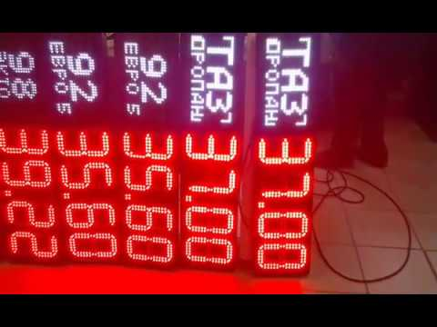 видео обзор цифровых табло ITLINE