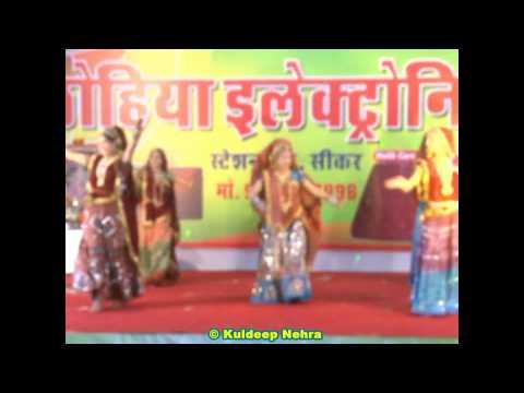 """""""Mera No Dandi Ka Beejna""""Song Rajasthani Dance In Agarwal Society Fair - 2012.(Video 5 Of 10)"""