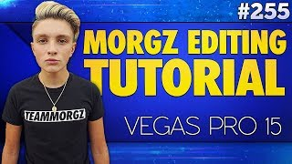 Vegas Pro 15: How To Edit Videos Like Morgz - Tutorial #255 (Much Requested) Video