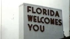 Florida 1958: Includes Old Welcome Center and Prudential Building (Jacksonville)