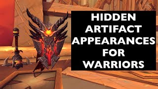 Hidden Artifact Appearances for Warriors (Hidden Potential) | WoW Guide