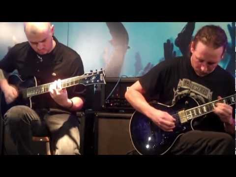 Devildriver - I've been sober - Namm 2013 Guitar Clinic