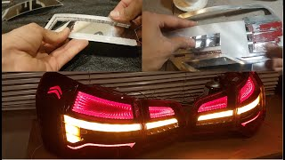 How it's made citroen c5 infinity mirror led tail light