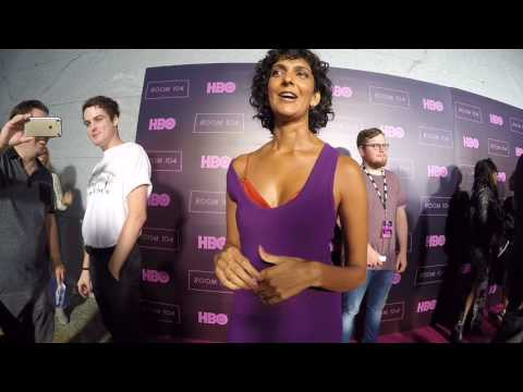 Los Angeles Red Carpet  Premiere HBO Room 104  ITW Poorna Jagannathan