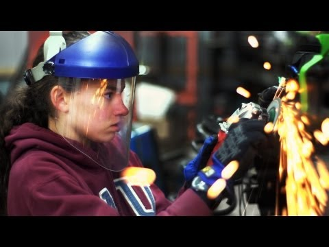 Teen Girl Rebuilds Car from Scratch
