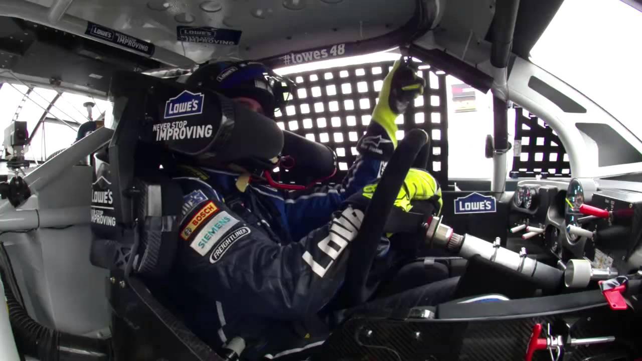 Jimmie Johnson In Car Pov 2013 Daytona 500 Youtube