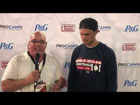 Ron Robert's Interview with New England Patriot Chris Hogan
