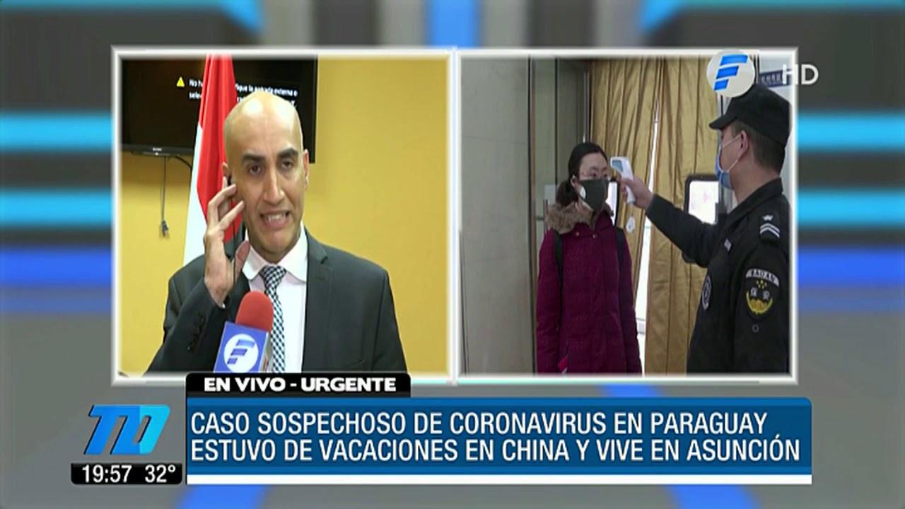 coronavirus paraguay