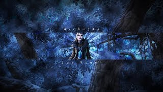 Fortnite Banner Template No Text | Ice Queen Channel Art | Photoshop CS6