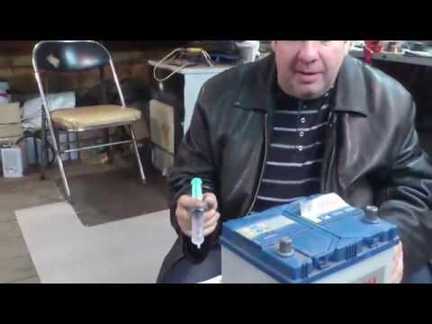 Как долить воды в аккумулятор BOSH S4 - Видео с YouTube на компьютер, мобильный, android, ios