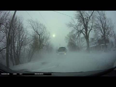 Snow Storm in Montreal on 2018-01-05