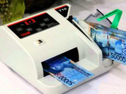 Alat Hitung Uang TISSOR Compact Bill Counter