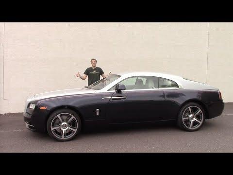 Обзор Rolls-Royce Wraith за $350 000