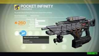 Destiny - Shattered Memory Fragment - Exotic Bounty Walkthrough - How to get the Pocket Infinity 4k