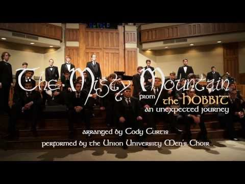 The Misty Mountain (men's choir, a capella)