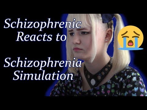 Schizophrenic Reacts to Schizophrenia Simulation