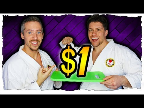 3 CHEAP Karate Training Equipment [Karate Equipment For $1]
