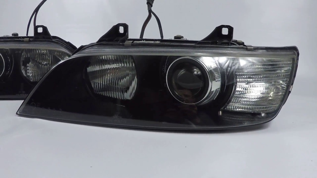 Bmw Z3 Coupe Custom Headlights Morimoto D2s 4 0 Projector Conversion Youtube