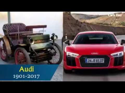 Audi - Evolution (1901 - 2017) SpORtS CarS