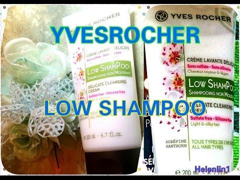 Yves Rocher|Co-Washing|LOW SHAMPOO|HelenLin1