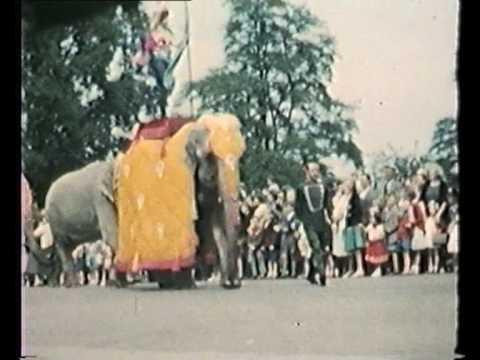 Billy Smart's Circus Parade