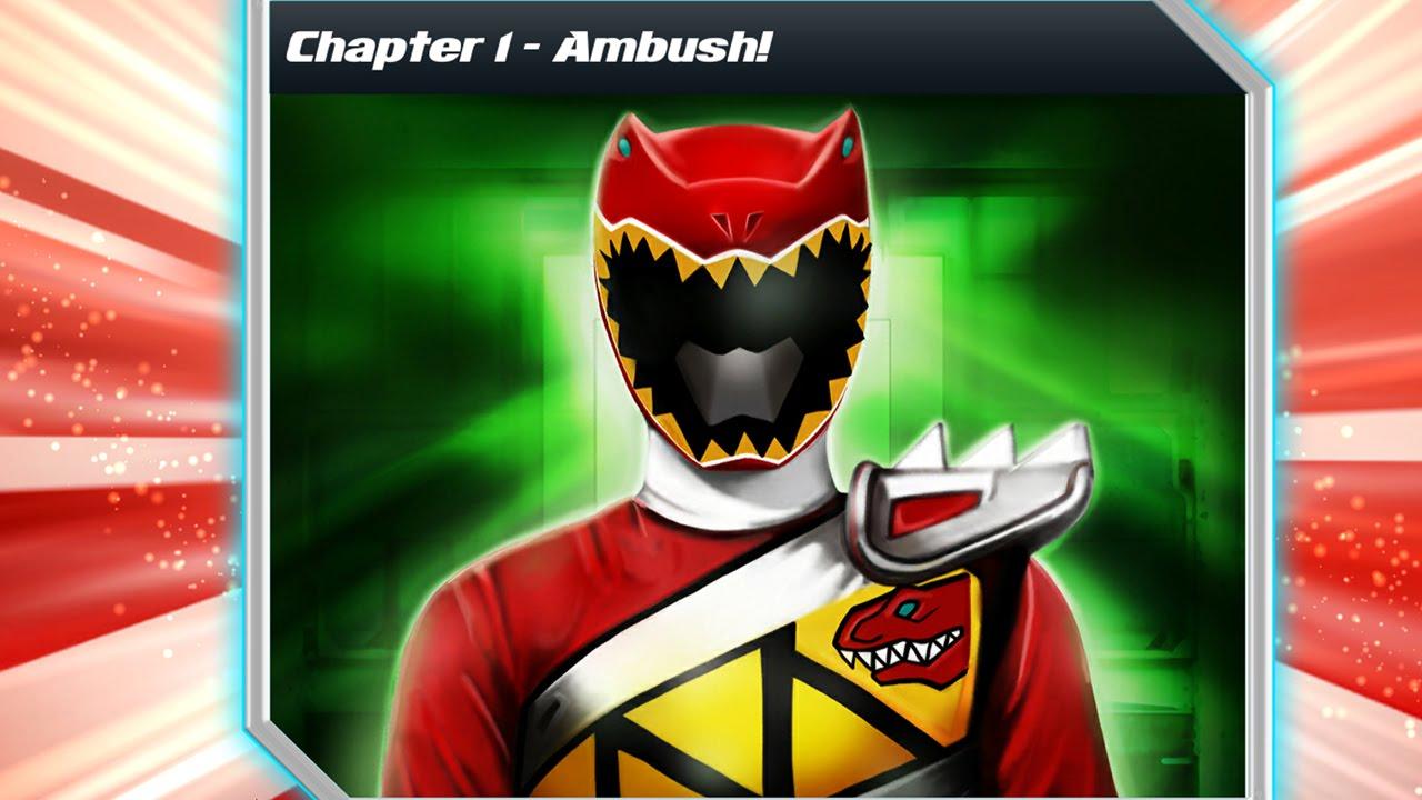 Power Rangers Dino Charge Rumble Gameplay Walkthrough Episode 1