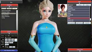 Elsa & Anna Frozen - Honey Select Card (Character Mod) by MS MODS Mods