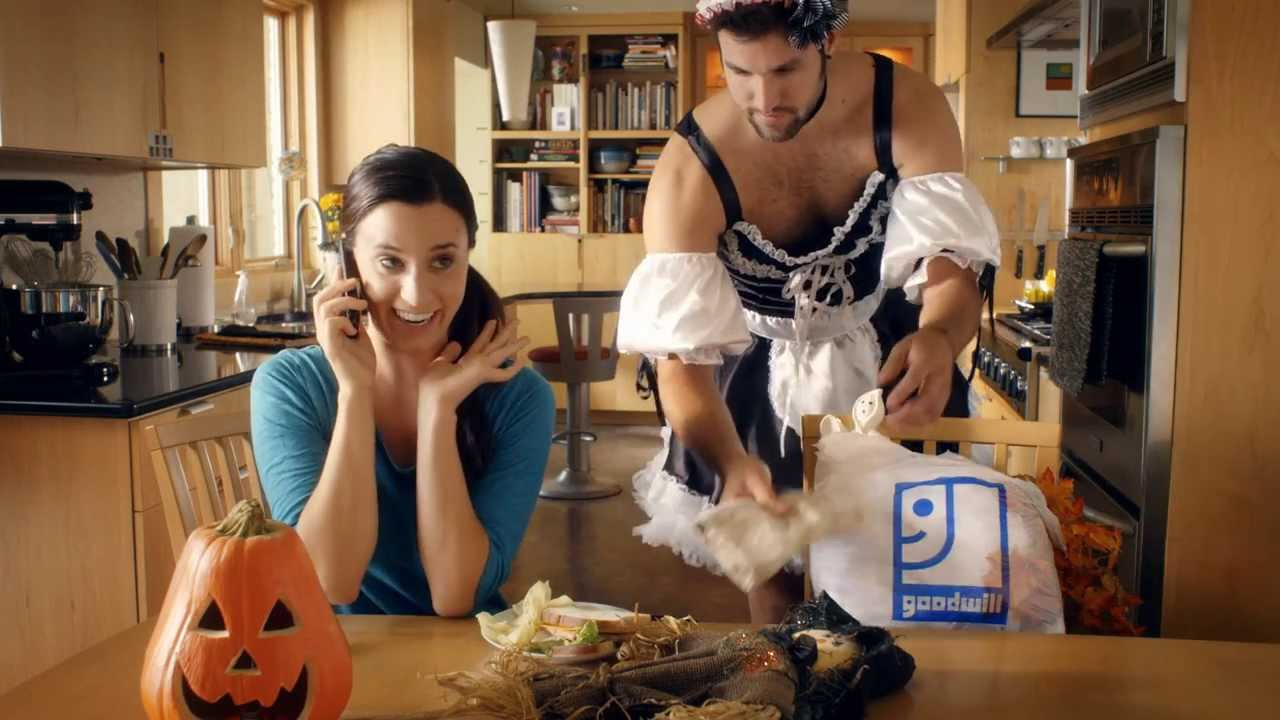changing costumes - goodwill halloween commercial - youtube